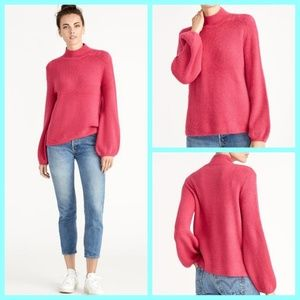Rachel Roy Shayla Sweater Pink Lotus color Size M